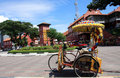 Decorative Trishaw Royalty Free Stock Photo