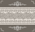 Decorative vintage border Stock Images