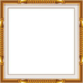 Decorative vintage frames and borders set,photo frame with corner line, corner silhouette, wood frame Royalty Free Stock Photo