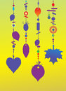 Decorative Wind Chimes Stock Image