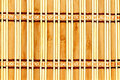 Decorative wooden mat Stock Photography