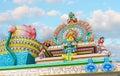 Decors of Murugan Temple