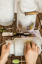Decoupage - Decorating Old Mil...