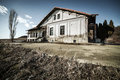 Decrepit house Stock Image