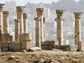Decumanus, Jerash, Royalty Free Stock Photos