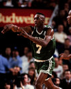Dee brown boston celtics guard image taken from color slide Stock Photo
