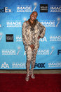 Dee dee bridgewater los angeles feb arrives at the naacp image awards nominee reception at beverly hills hotel on february in Stock Photo