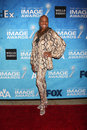 Dee dee bridgewater los angeles feb arrives at the naacp image awards nominee reception at beverly hills hotel on february in Stock Image