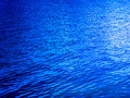 Deep blue lake water background Royalty Free Stock Photography