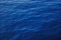 sea water background deep blue Royalty Free Stock Photo