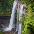 Deep forest beautiful waterfall at huai luang waterfal in ubon ratchathani thailand Stock Photo