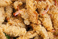 Deep fried crispy shrimp. Stock Image
