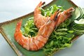 Deep Fried Prawn Royalty Free Stock Photo