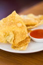 Deep Fried Wonton Stock Image