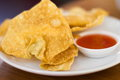 Deep Fried Wonton Royalty Free Stock Image