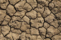 Deep Mud Cracks Background Royalty Free Stock Photo