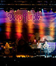 Deep Purple live in Cyprus Royalty Free Stock Photography