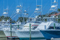 Deep Sea Fishing Boats Royalty Free Stock Photo