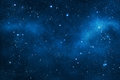 Deep space background with nebulae Stock Photo