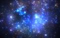 Deep space nebula Royalty Free Stock Photo