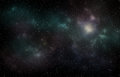 Deep space Universe stars night sky Royalty Free Stock Photo
