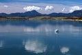 Hluboké vody Liptovské Mary v létě
