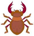 Deer Bug (vector Clip-art)