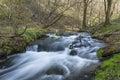 Deer Creek Waterfall In Spring Royalty Free Stock Photo