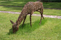 Deer statue Stock Photography