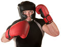 Defensive Boxing Move Royalty Free Stock Photo