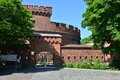 Defensive tower dona kaliningrad russia june old german military fortification was built in inside is a museum of amber Stock Image