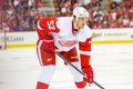 Defesa jonathan ericsson dos detroit red wings Foto de Stock