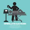 Defibrillator Electrodes Symbol