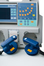 Defibrillator for emergency care Stock Images