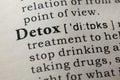Definition of detox