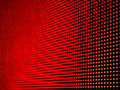 Defocus of red led on panel abstract background Stock Images