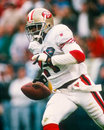 Deion sanders san francisco ers Royaltyfria Bilder