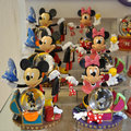 Dekoraci mickey minnie mysz Fotografia Royalty Free