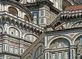 Del detail圆顶fiore佛罗伦萨玛丽亚・圣诞老人 免版税图库摄影