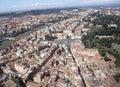 Del piazza popolo罗马 库存图片
