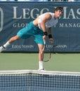 Del Potro: Tennis Player Serve Stock Photo