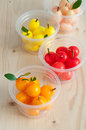 Delectable imitation fruits thai national dessert kanom look choup Stock Image