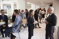 Delegates Networking During Coffee Break At Conference Royalty Free Stock Photo