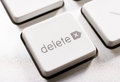 Delete button Royalty Free Stock Photo