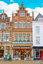 Delft Houses Architecture Royalty Free Stock Photography