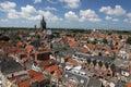 Delft panorama Royalty Free Stock Photo