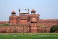 Delhi Fort Royalty Free Stock Photo