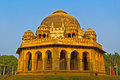 Delhi mausoleum of muhammad shah sayid in lodi garden Stock Images