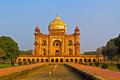 Delhi mausoleum safdarjung medieval in Stock Photography