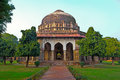 Delhi mausoleum of sultan sikander lodi imausoleum in gardens new Royalty Free Stock Images